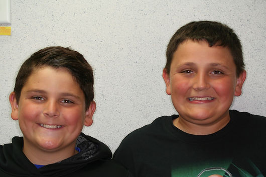 Smiling boys picture