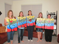 Painting for Panties Fundraiser 2015