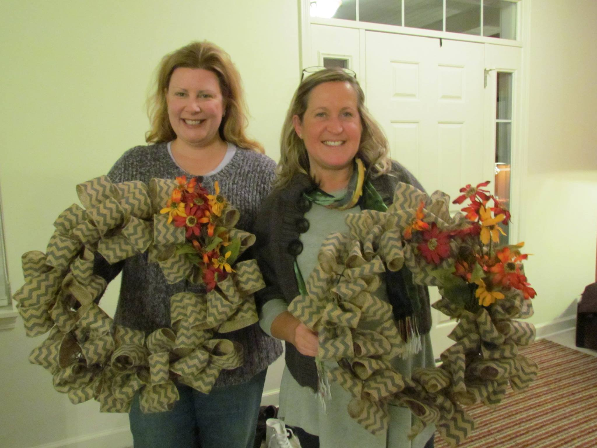 Burlap Wreath Making Fundraiser