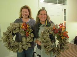 Burlap Wreath Making Fundraiser