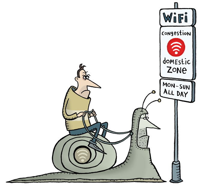 Domestic WiFi Woes