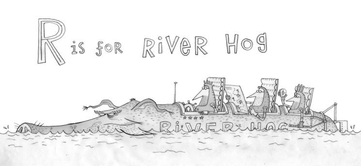 River Hog