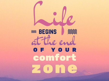 3 Ways To Step Out Of Your Comfort Zone