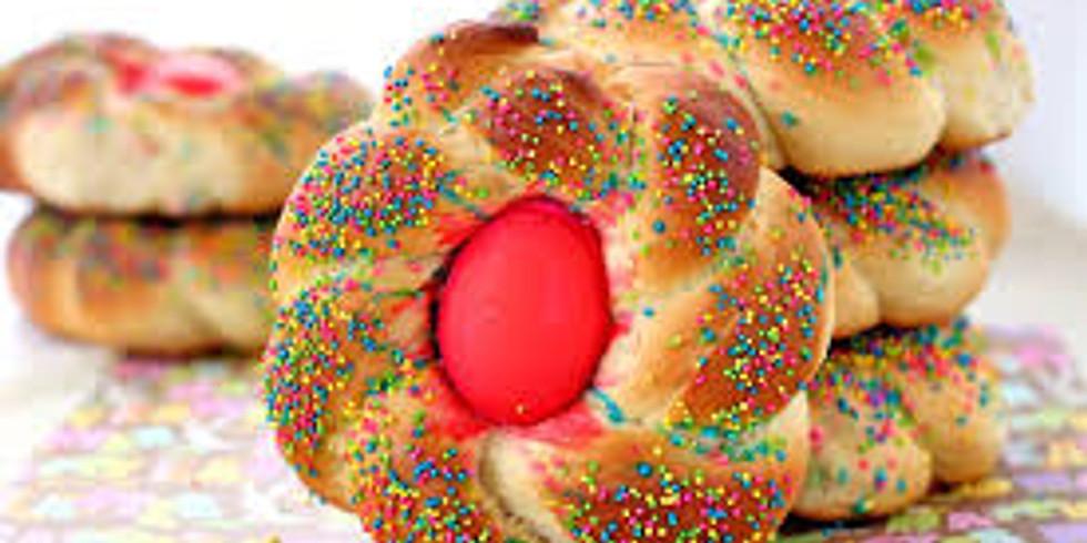 Italian Easter Baking: Pane di Pasqua