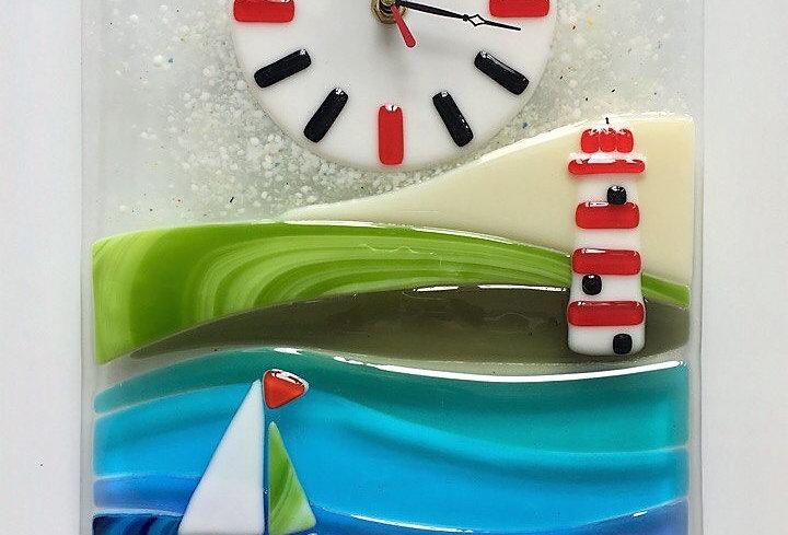 """Настенные часы """"Кораблик"""""""