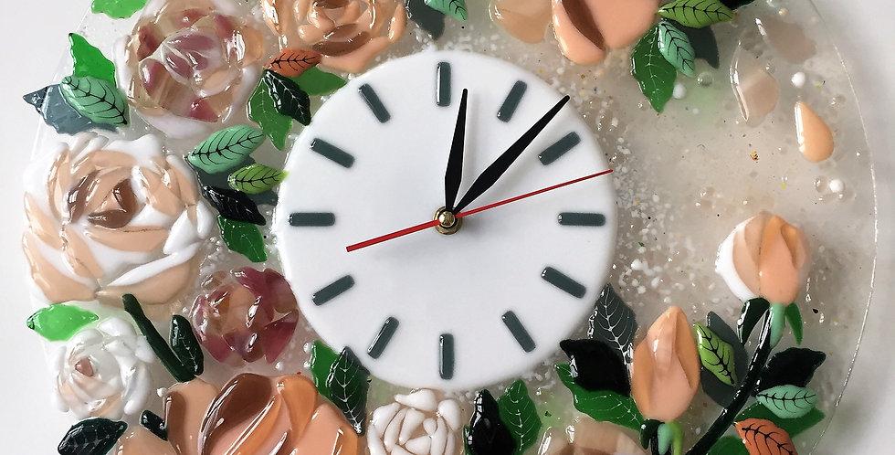 "Настенные часы ""Розы"""