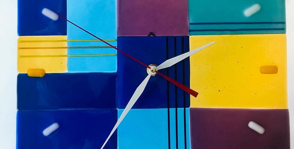 """Настенные часы """"Лоскуток»"""