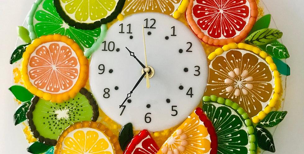 Настенные часы «Цитрусы»