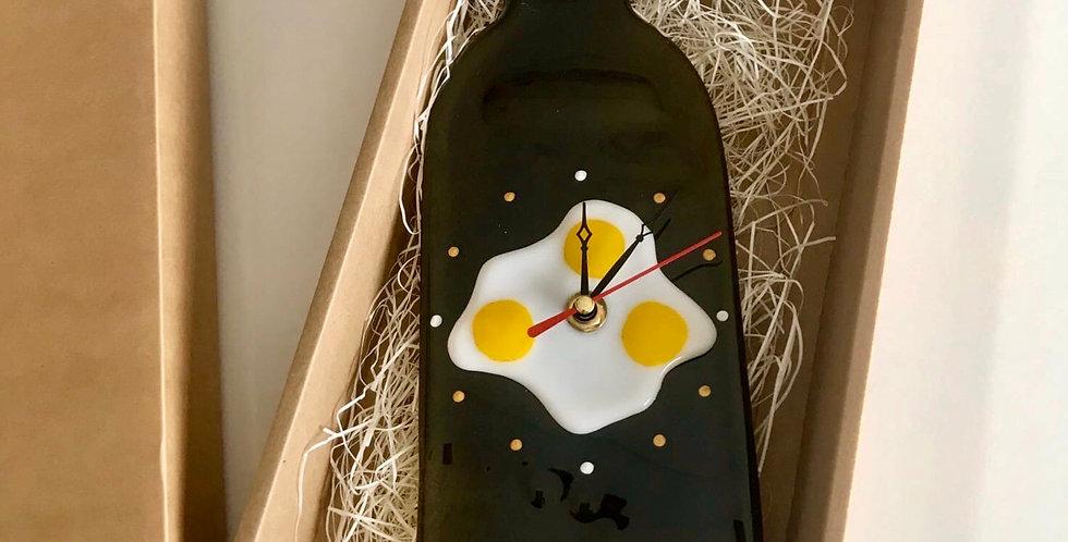 """Настенные часы """"Яичница»"""