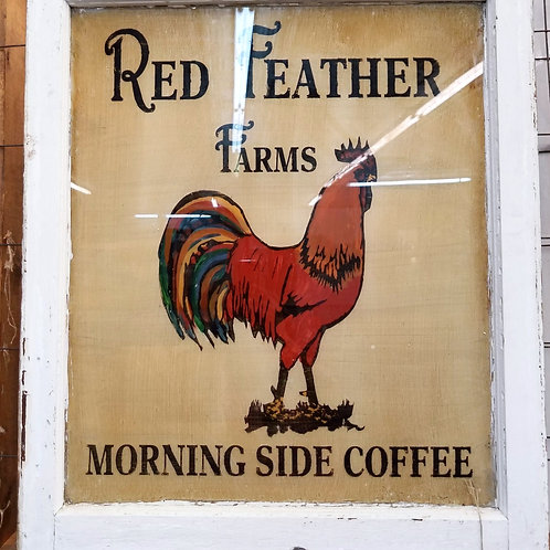 Red Feather Farms Window