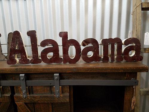 Alabama Tin Sign