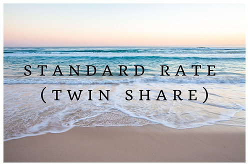 Standard Rate (Twin Share)
