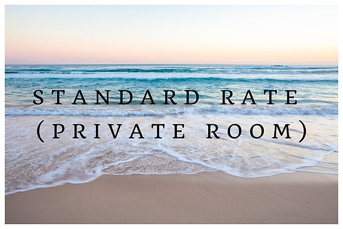 Standard Rate (Private Room)