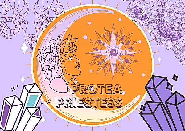 protea priestess brand logo