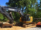 Land clearing and site prep for large trees for Commercial properties