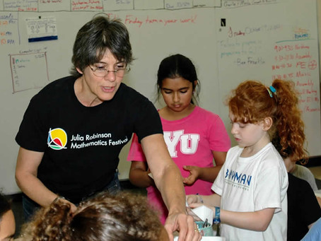 Nancy Blachman uses donor advised fund to inspire students to love math