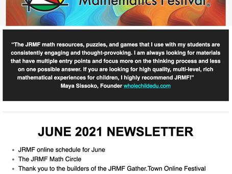 JRMF June Newsletter!