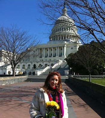 Melanie Siben lobbied on Capitol Hill for bills to eradicate child trafficking