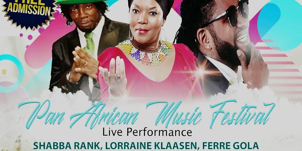 PAN AFRICAN MUSIC FESTIVAL