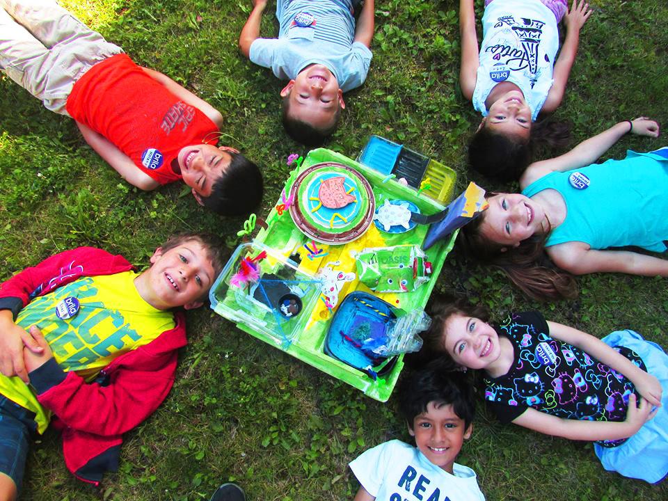 P4C project children designing ideal school