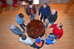 Big Community Drumming