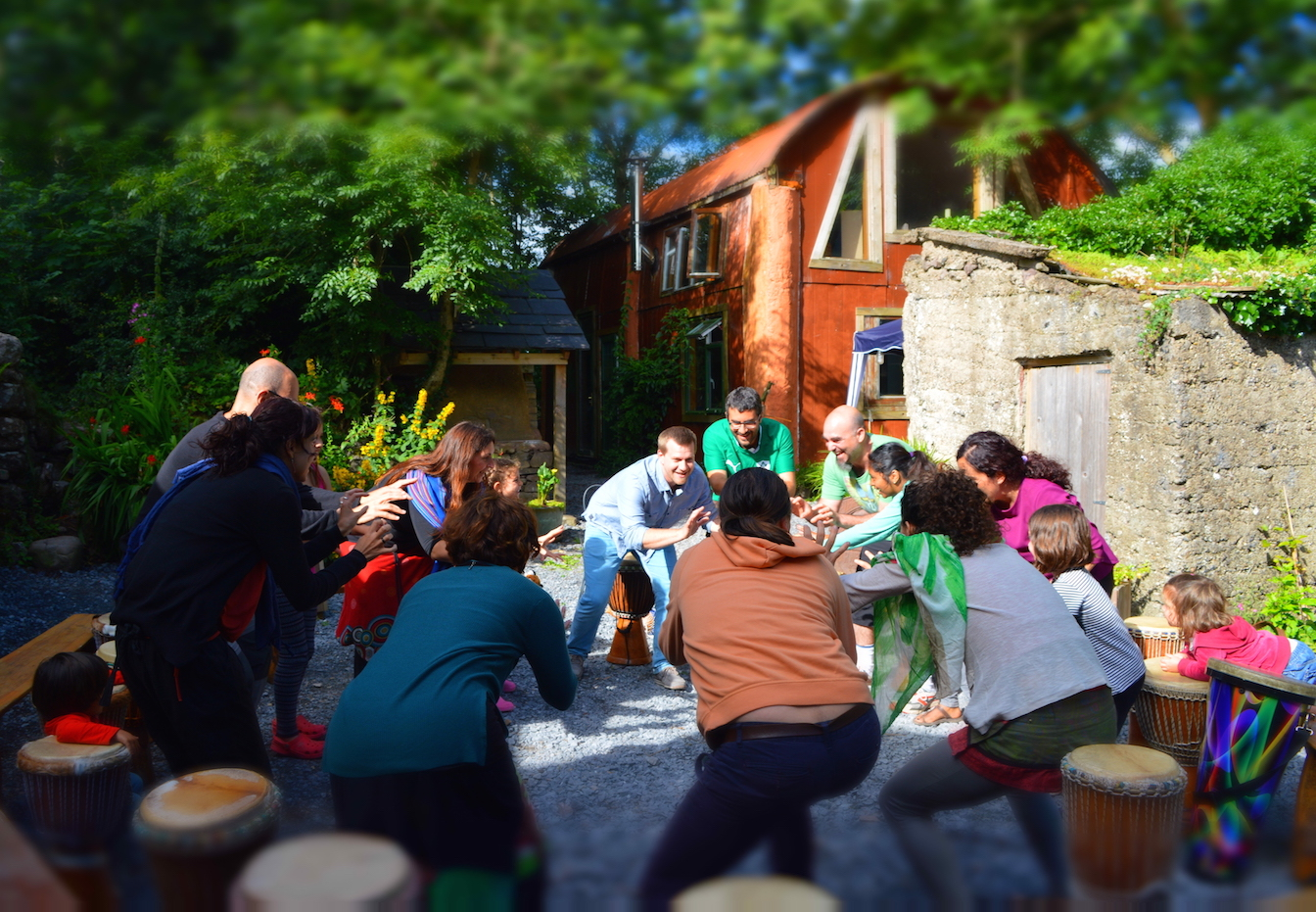 Fun team building workshops for Ireland