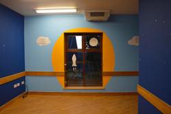 Artistic Mural for Children