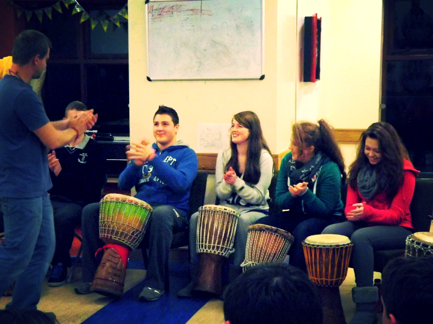 Drumming with Foroige