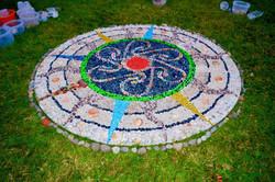 Mandala at Midsummer's Eve Festival