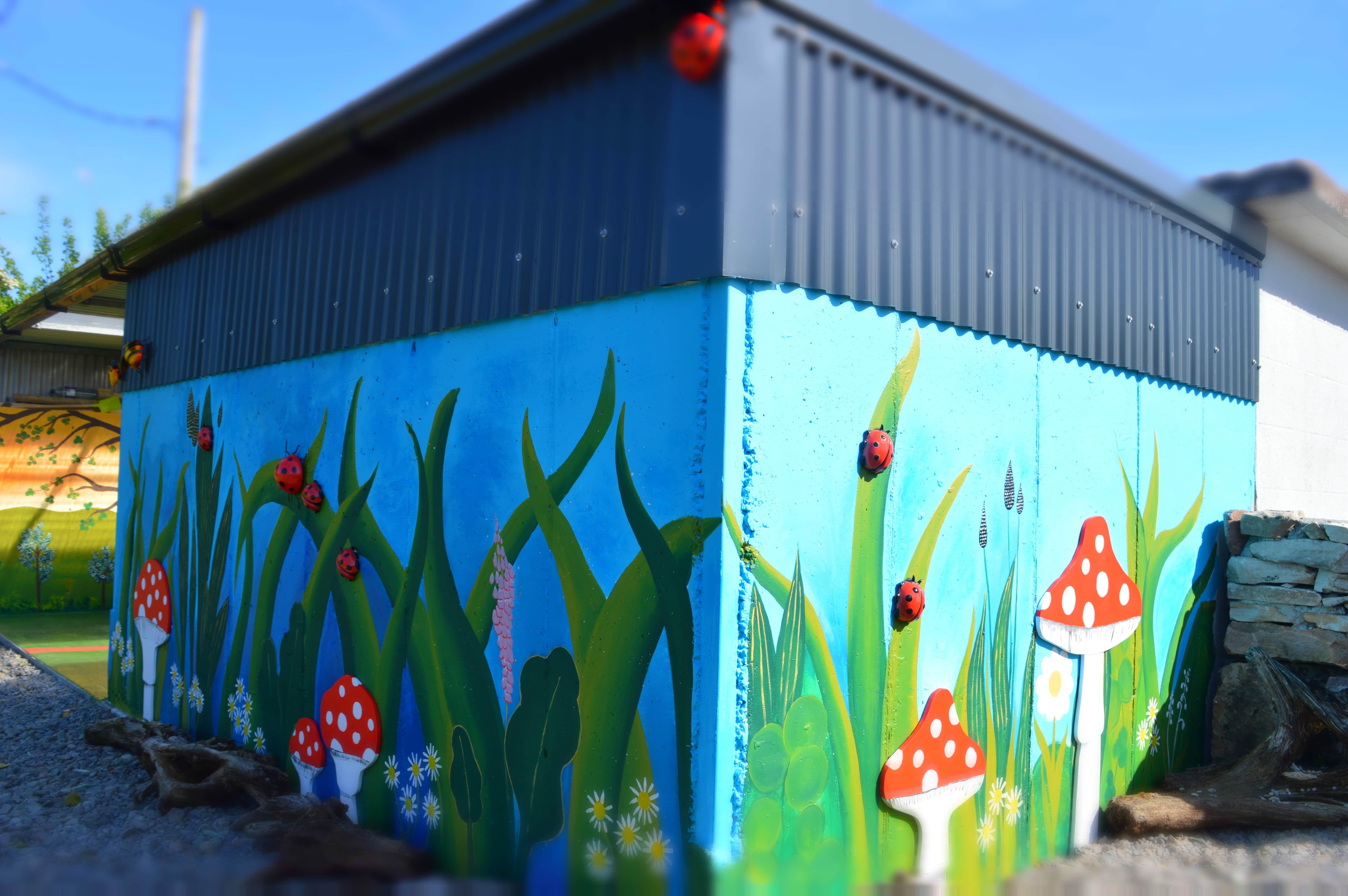 Artistic Mural Mayo Ireland