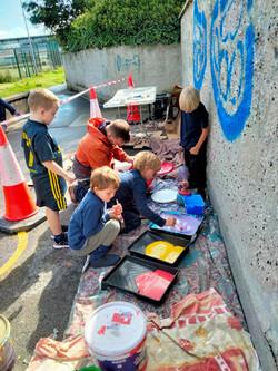 Engaging community in art