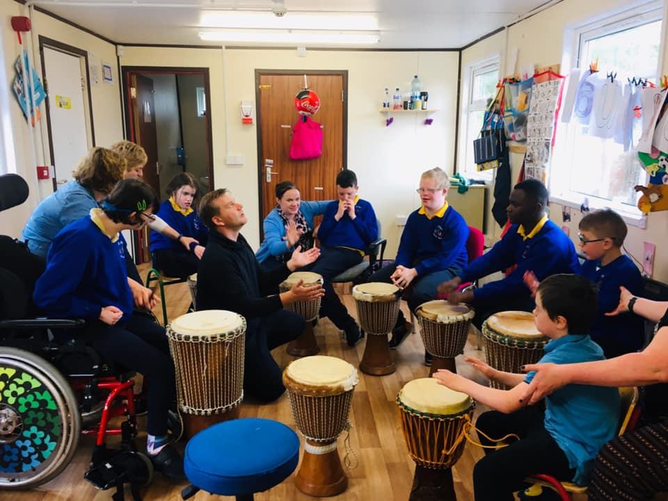 Special Needs Drum Circle