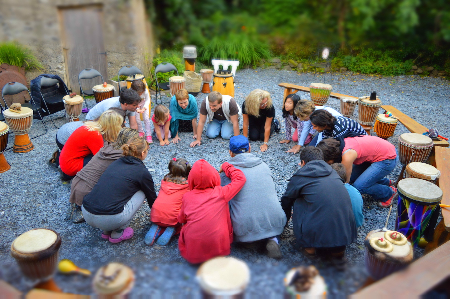 Creativity and team building workshops in Ireland