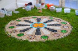 Community Mandala at Walled Town Day