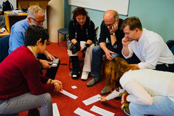 Corporate creative thinking workshop