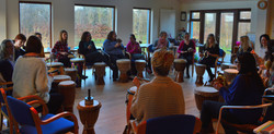 Drum Circle is a perfect team building exercise