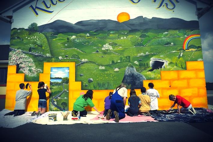 Educational Mural