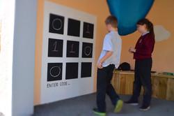 Interactive mural for schools