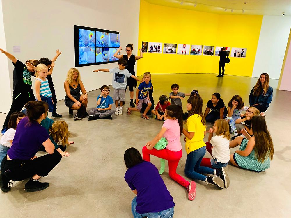 Children workshop philosophy through movement P4C Canada