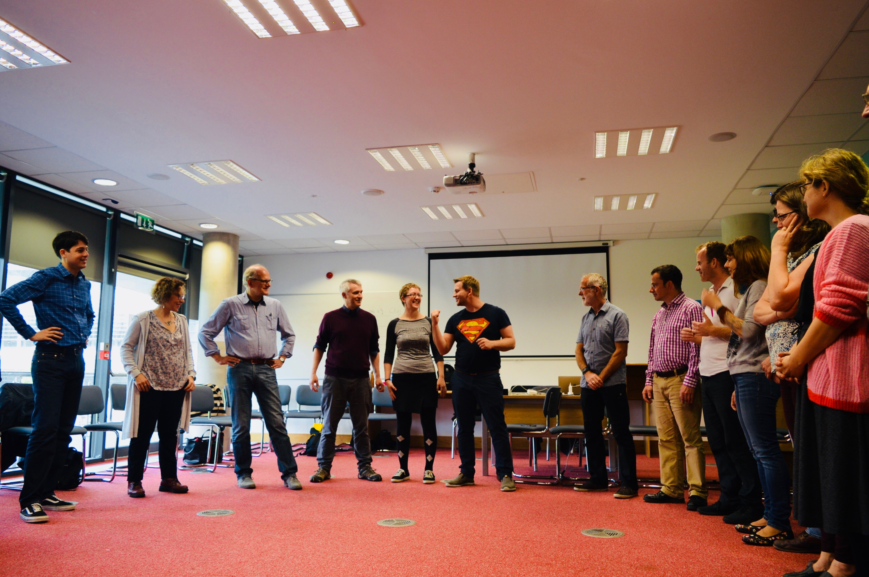 Empowering team building activities in Ireland