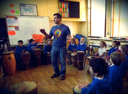 Drumming with National Schools