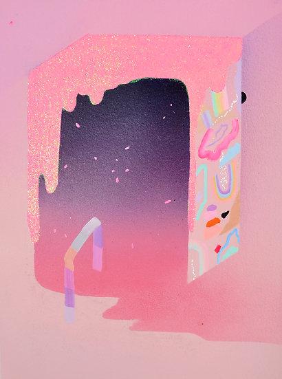 Cosmic Cereal, 9 x 12 in