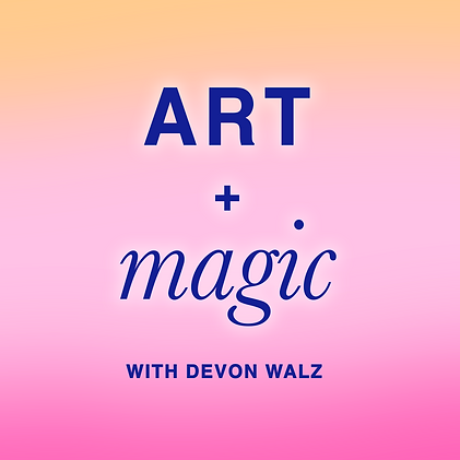 Art and Magic podcast thumbnail official
