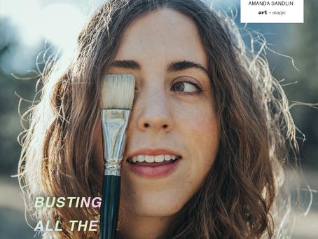 Busting all the Artist Myths | Amanda Sandlin