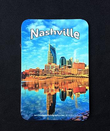 Nashville Sticker #1- 4 x 6 inches