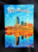Nashville Post Card, Nashville TN souveniers, Nashville gift
