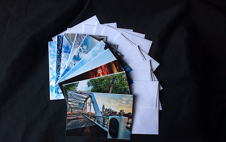 Note cards containing images of Nashville, TN and Middle Tennessee, Nashville TN souveniers
