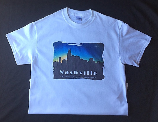 Nashville White T-shirt #2