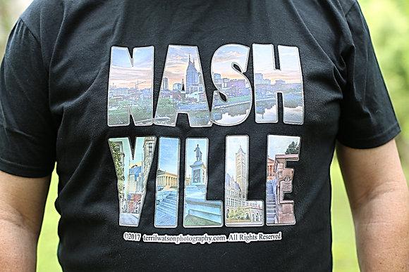 NASH - VILLE  T - shirt #7