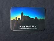 Sticker containing image of Nashville, TN, Nashville souveniers